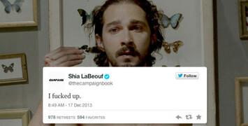 Shia LaBeouf met en ligne un court-métrage qu'il a réalisé... c'est un plagiat