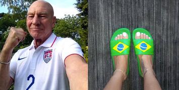 Les meilleurs tweets de stars de ciné sur la Coupe du Monde 2014