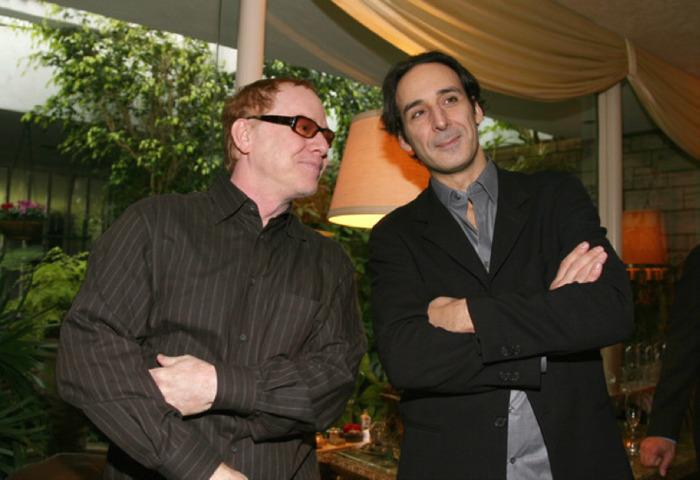 Danny Elfman et Alexandre Desplat préparent un mauvais coup