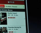 Une application VOD sur le nouvel iPhone
