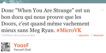Micro-critiques : Hatchi, Les meilleurs amis du monde, When you're strange, Summer Wars, The Crazies...