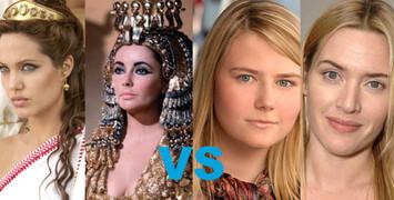 A. Jolie en Cléopâtre et K. Winslet en Kampusch ?