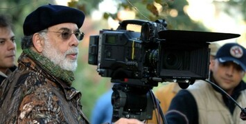 Francis Ford Coppola en tournage avec Val Kilmer, Elle Fanning et Bruce Dern