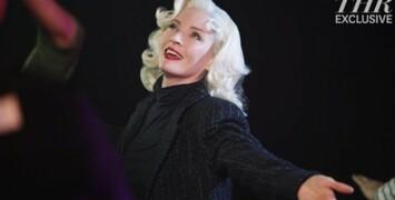 Uma Thurman en Marilyn Monroe dans la série Smash