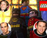 Batman et Superman dans un film Lego
