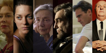 Oscars 2013 : les acteurs et actrices favoris