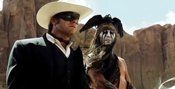 La bande-annonce version longue du western The Lone Ranger avec Johnny Depp