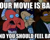 Les pires films de 2012 font leur auto-critique