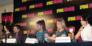 Spring Breakers : avant-première et conférence de presse en direct vidéo