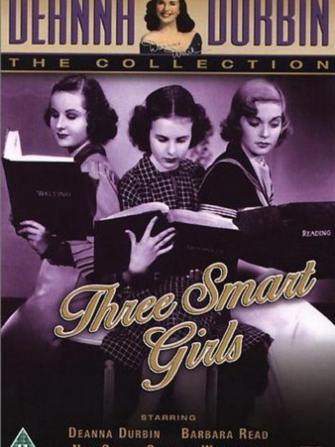 Trois jeunes filles à la page