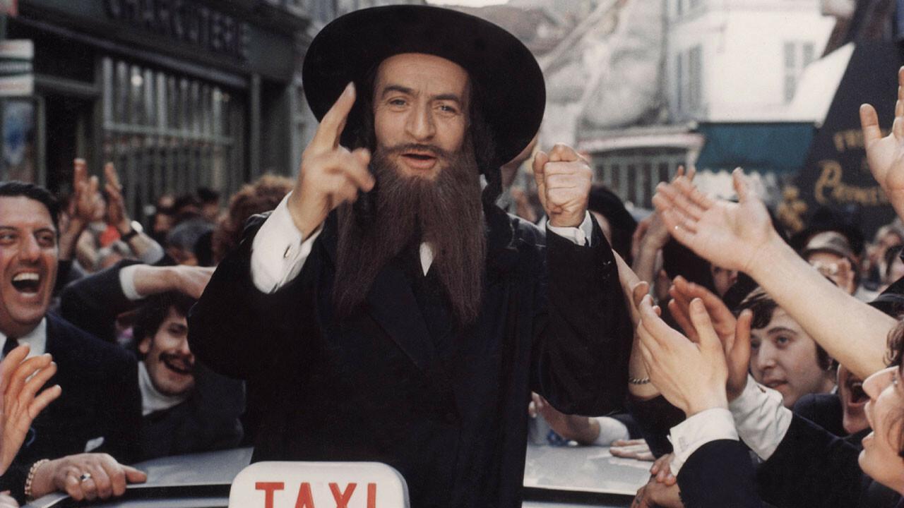 Les aventures de rabbi jacob un film de 1973 vodkaster for Dans rabbi jacob