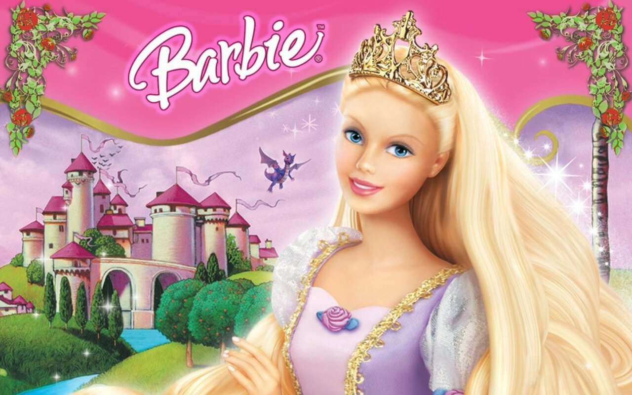 Barbie princesse raiponce un film de 2002 vodkaster - Barbie en princesse ...