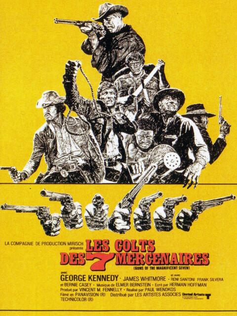 Les Colts Des 7 Mercenaires