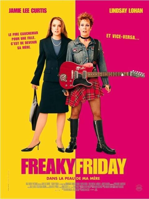 Freaky Friday, dans la peau de ma mère