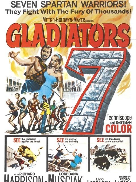 Les sept Gladiateurs