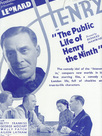 The public life of Henry the Ninth