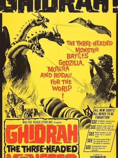 Ghidrah le monstre à trois têtes