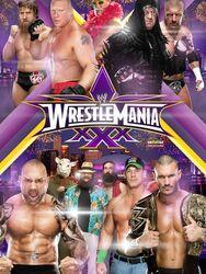 WWE WrestleMania XXX 2014