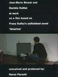 """Jean-Marie Straub und Danièle Huillet bei der Arbeit an einem Film nach Franz Kafkas Romanfragment """"Amerika"""""""