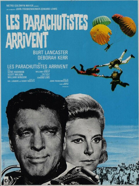 Les Parachutistes arrivent