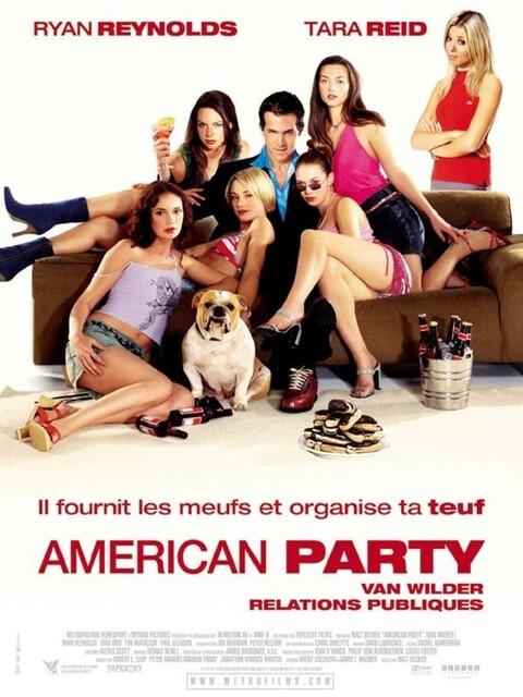 American party - Van Wilder relations publiques