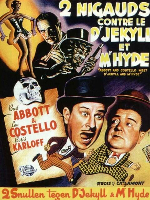 Deux nigauds contre le Docteur Jekyll et M. Hyde