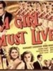 A Girl Must Live