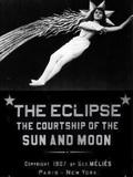 L'Éclipse du soleil en pleine lune
