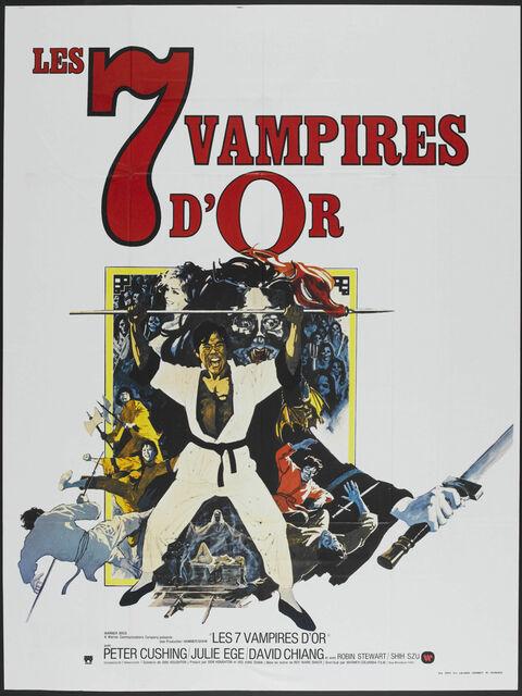 Les 7 Vampires d'or