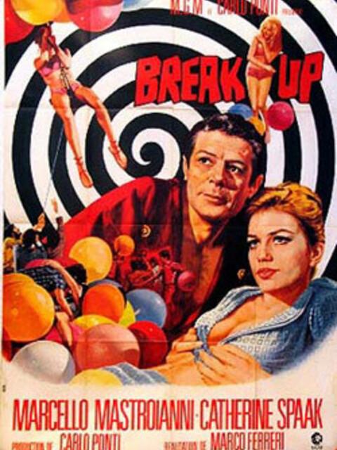 Break-up, Érotisme et ballons rouges