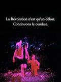 La Révolution n'est qu'un début. Continuons.