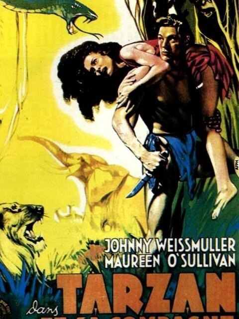 Tarzan et sa compagne