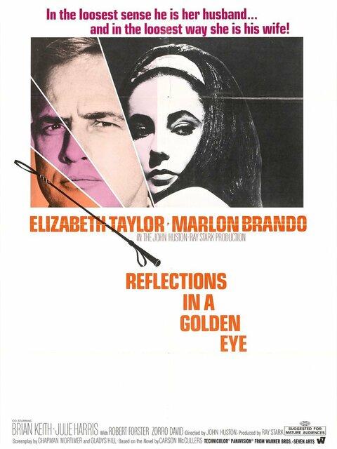 Reflets dans un œil d'or