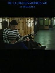 Portrait d'une jeune fille de la fin des années 60 à Bruxelles