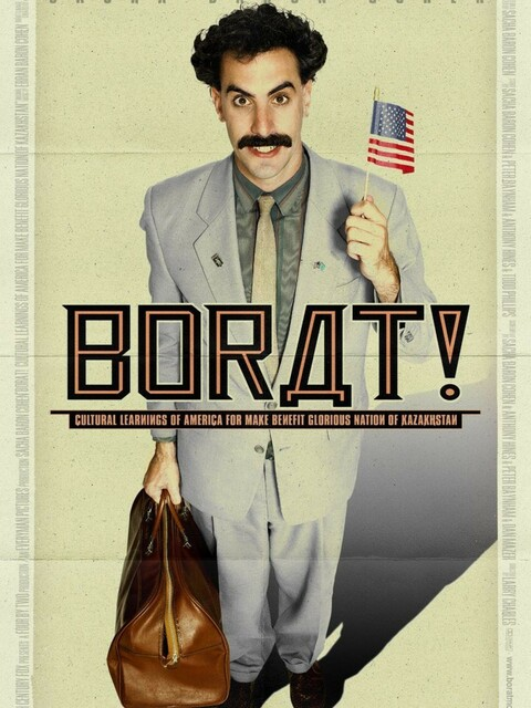Borat, leçons culturelles sur l'Amérique au profit glorieuse nation Kazakhstan