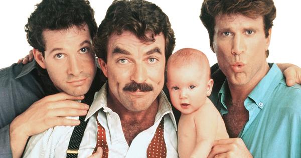 trois hommes et un b b un film de 1987 vodkaster. Black Bedroom Furniture Sets. Home Design Ideas