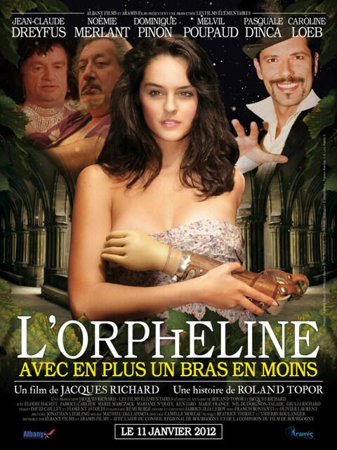 L'Orpheline avec en plus un bras en moins
