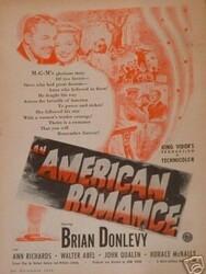 Une comédie romantique américaine