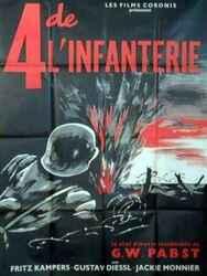 Quatre de l'infanterie