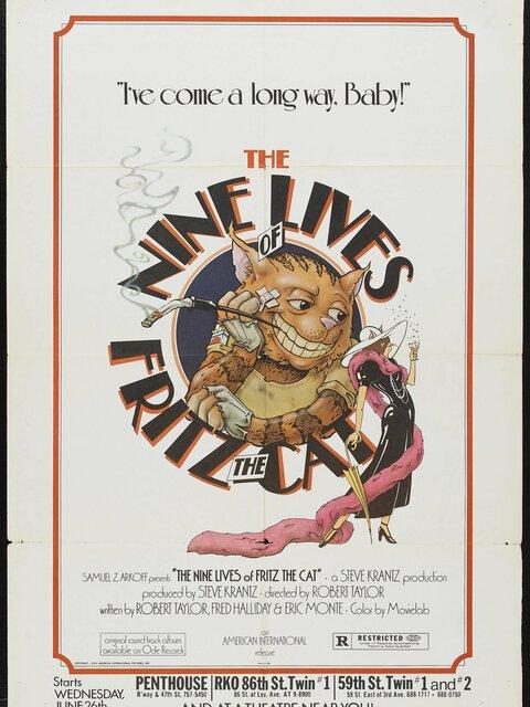Les Neuf vies de Fritz le chat