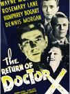 Le Retour du docteur X