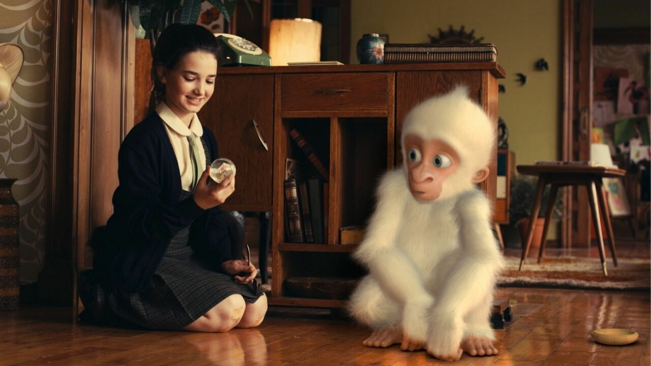 snowflake le gorille blanc