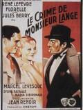 Le Crime de M. Lange