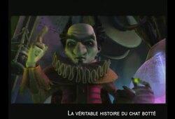 bande annonce de La Véritable histoire du Chat botté