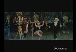 bande annonce de Lola Montès