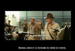 bande annonce de Indiana Jones et le Royaume du Crâne de Cristal