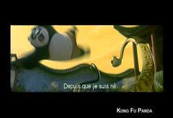 bande annonce de Kung Fu Panda
