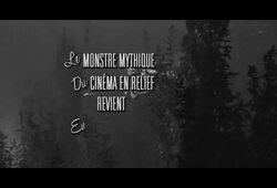 bande annonce de L'Étrange Créature du lac noir