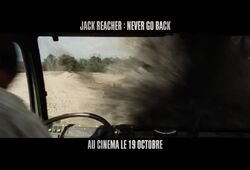 bande annonce de Jack Reacher : Never Go Back