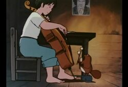 bande annonce de Goshu le violoncelliste